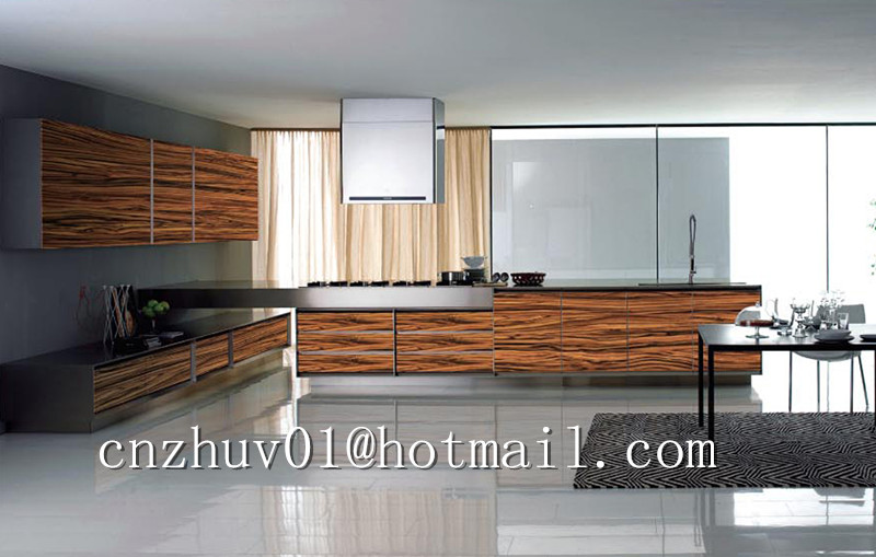 Ordinaire Modern Kitchen Cabinet Design Wood Grain Pattern High Gloss Uv Paint   Buy  Modern Kitchen Cabinet Design,Wood Grain Pattern High Gloss Uv Paint,Mdf  Kitchen ...