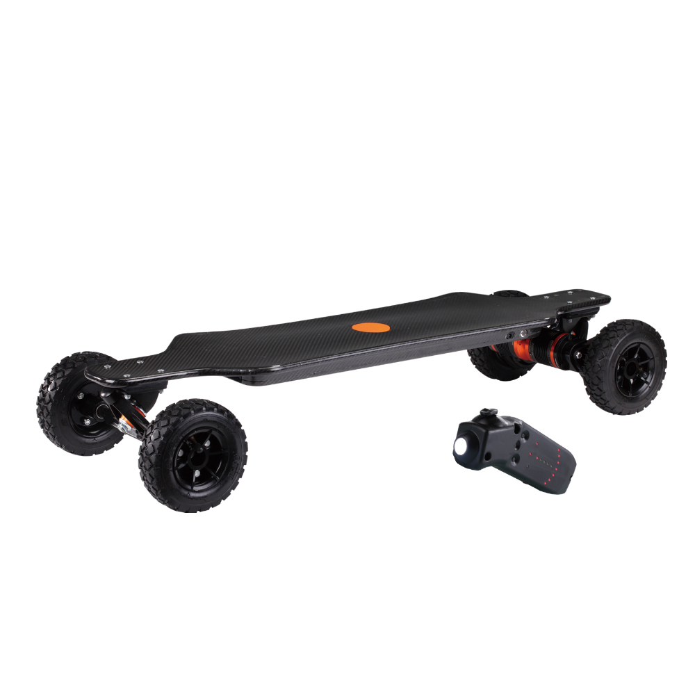 Wholesale Adult 3200W Lithium Battery Carbon Fiber Electric Longboard Skateboard Electric Long Board