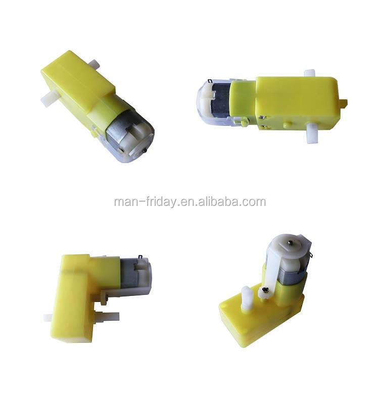 Micro DC Gear Motor Met 1:120 1:48 Overbrengingsverhouding 3 ~ 6 V Nominale Spanning Voor Maken Speelgoed Auto, robot