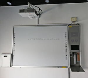 No Folded interactive Whiteboard or smart board