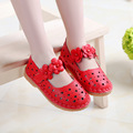 2016 Summer Children Girls Sandals Heart shaped Hollow Out Flower Kids Sandals Girls Comfortable Princess Shoes