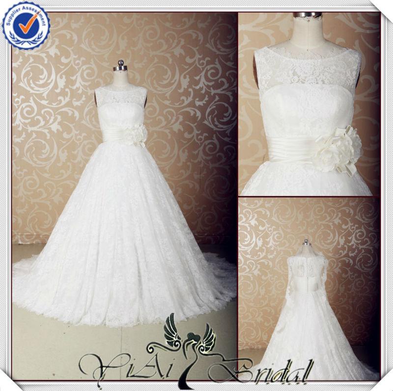 jj3580 del diseñador vestido de novia de encaje los patrones de