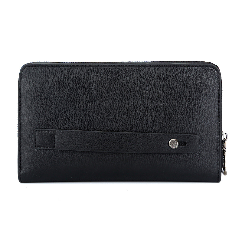 TRIPMAN Clutch Wallet For Mens PU Leather Business Accept Customized Logo Long Purse
