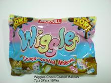 Wiggles Choco Coated Mallows