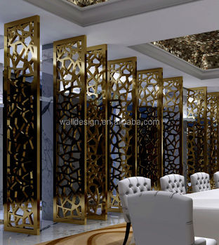 Laser Cut Metal Screens For Hotels Decoration