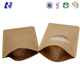 50G 2Oz 100G 120G 4Oz Kraft Paper/Poly Foil Stand Up Pouch Coffee/Tea Bags With Ziplock/Zipper/Degassing Valve