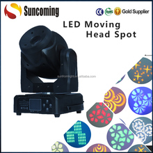Sunfrom 1500 Lux 5 Meter 60 Watt Changeable Led Moving Head Spot with Clear Edge