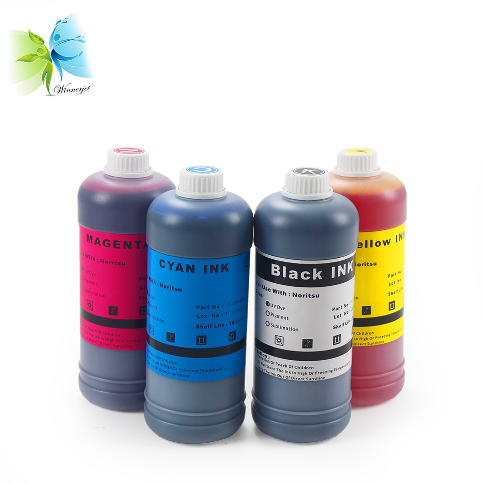 WINNERJET compatible refill ink D701 D703 D1005 for NORITSU GREEN II series printers