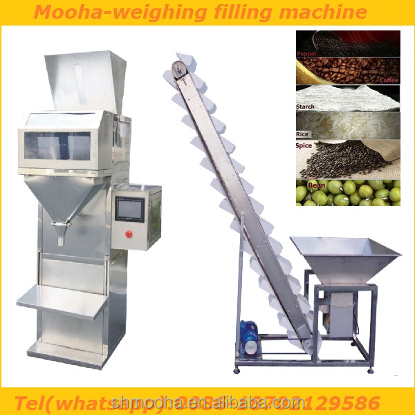Shanghai Mooha nuts/rice/beans filler,nuts/rice/beans filling machine(3000gram)