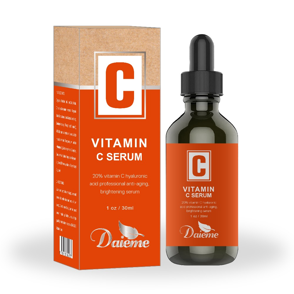 <strong>Vitamin</strong> <strong>C</strong> <strong>Serum</strong> <strong>for</strong> <strong>Face</strong> with Hyaluronic Acid, <strong>Vitamin</strong> E &amp; Citrus Stem Cells-585328
