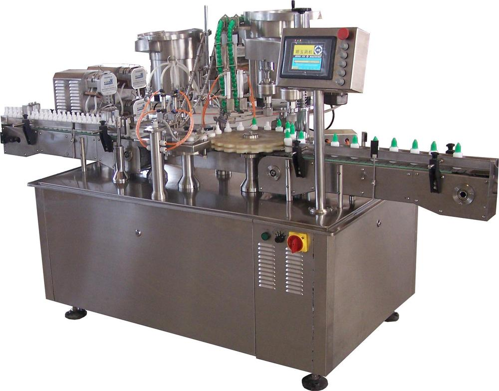 Automatic Small Volume Perfume Bottle Filling Capping