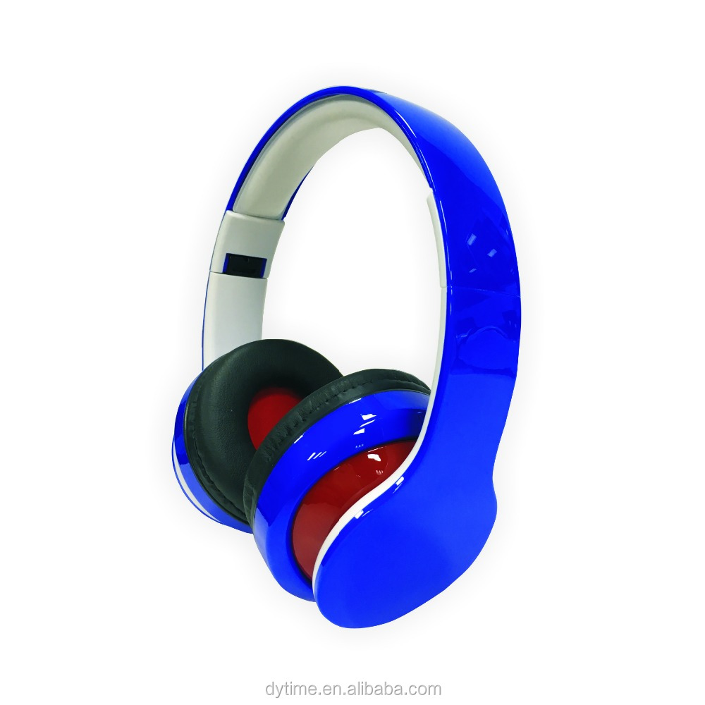 Bluetooth Over Ear Headphone With Built in Microphone, Compatible with iPods, iPhones, iPads/Android Wireless w/TF card