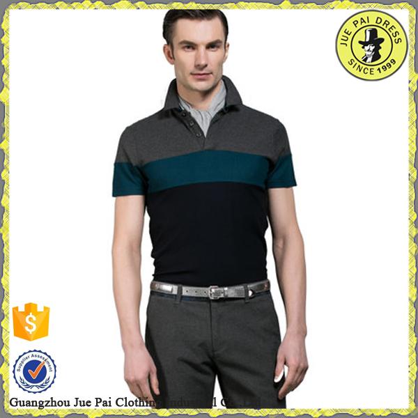 Tecido da Camisa Gola Polo Com Personalizado de Alta Qualidade Workwear  Elegante Camisas Formais Para Homens 73786192340df