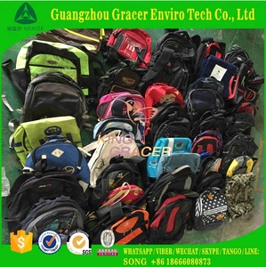 Export Second Hand School Bags In India Style Guangzhou Used School Bags Suppliers