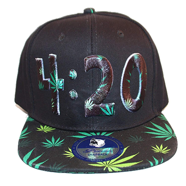 cffe43dfb906e Get Quotations · Loyal Cloth Weed 420 Snapback Design Cap
