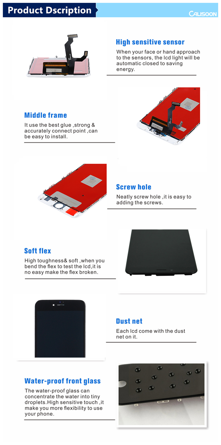 Calisoon Shenzhen Fabrika fiyat ucuz iphone 6 s için lcd ekran digitizer ile