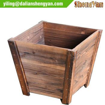 Outdoor rectangular wood flower pot wood planter wood flower box outdoor rectangular wood flower pot wood planter wood flower box workwithnaturefo