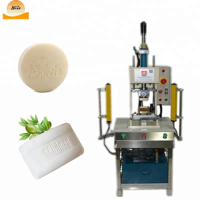 Hotel Soap Logo Printing Pressing Stamping Machine Price of Soap Making Stamper Machine