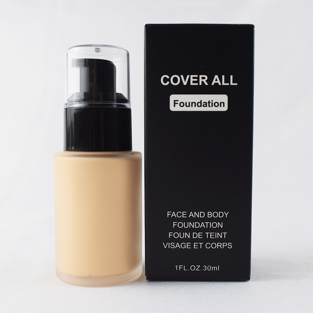 Factory Wholesale Private Label High Coverage Liquid Foundation 9 Colors Available