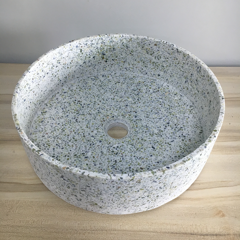 Natural Hotel Supply Concrete Bathroom Wash Basin