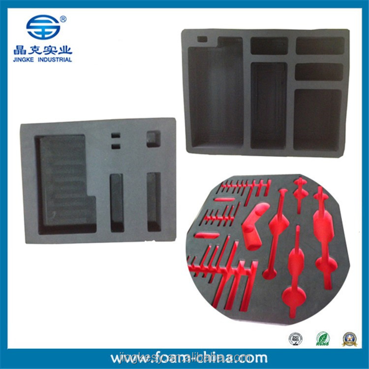foam gun case inserts/cut foam padding/ester foam sheets