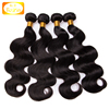 BOLIN Factory Wholesale natural color body wave 100% 8A Unprocessed Remy Hair Weave Bundles Human Hair Extension