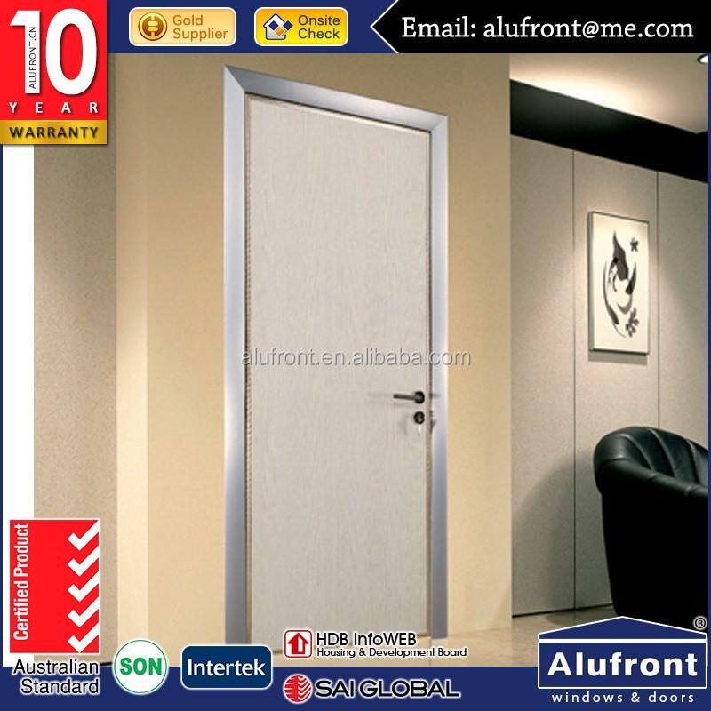 Residential Interior Flush Door/aluminum Mdf Swing Door With Competitive Price - Buy Aluminum Flush DoorOffice Doors InteriorAluminum Door Product on ... & Residential Interior Flush Door/aluminum Mdf Swing Door With ...