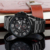 2018 fashion skone new model stainless steel Chronograph steel watch