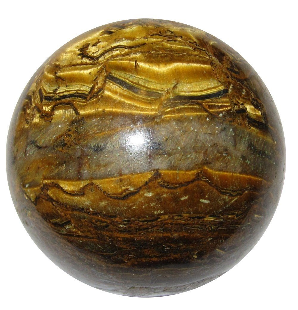 Lucite Treasures Mini Golden Scorpion Sphere
