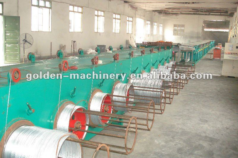 products hot dipped wire galvanizing line