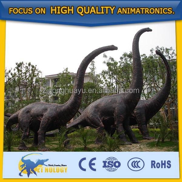 Best seller life size living dinosaur for dino park decoration model
