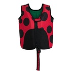 Low prices custom high quality young kids neoprene light life jacket
