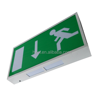 3 Jahre Garantie Running Man Led Exit Sign