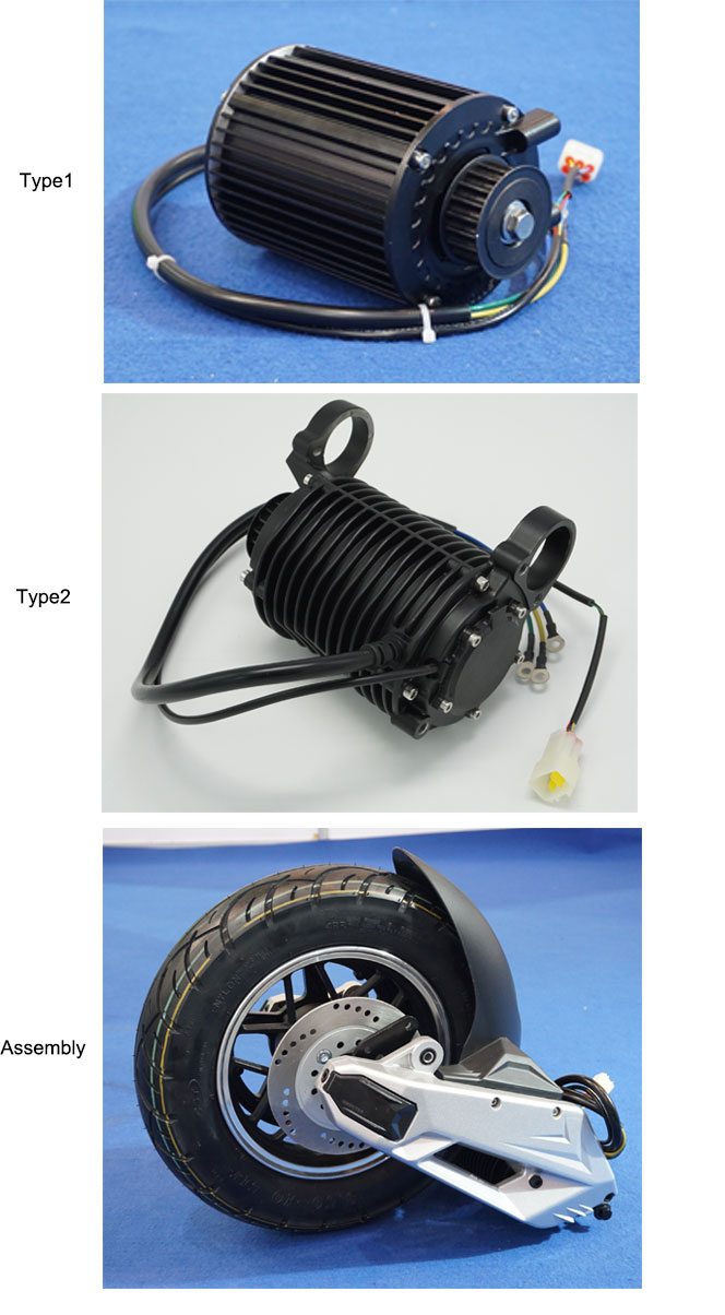 QS Motor New Launched Product 1000W 90H mid drive Motorfor electric motorcycle