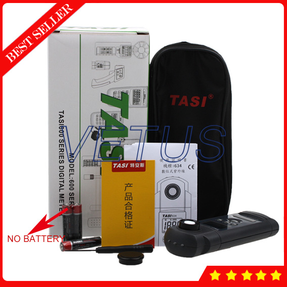 TASI-634 High precision digital UV Intensity Light Meter with LCD Display maximum reading is 1999