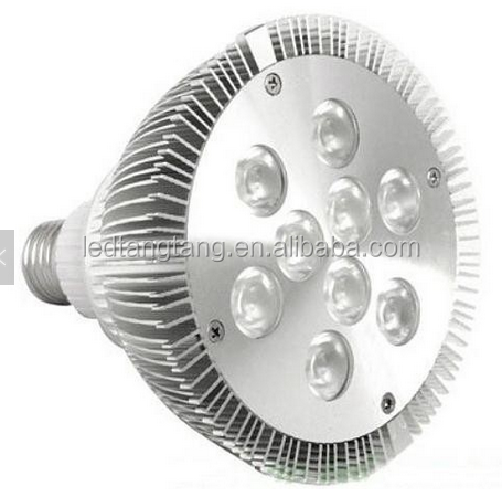 ETL UL par lamp par30 led, high lumen output led par 38 light, par20 e26 e27 dimmable 5 years warranty