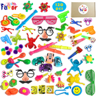 Amazon Hot Selling Party Supply 120PCS Assorted Party Favors Toy for Kids Birthday and Carnival Prizes