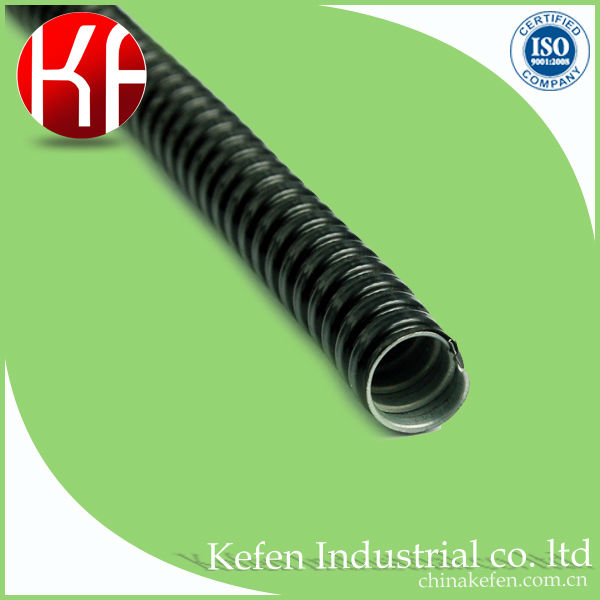 pvc coated gi flexible conduit / steel flexible conduit / pvc conduit pipe 25mm