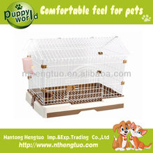 small breeding cage dog with roof