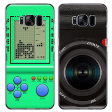 Novelty Creative Disguise Back Cover Case for Samsung S8 S8Plus for iPhone 5 6 7 8 Plus 10 Keyboard Game Console Phones Screen