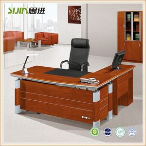 China factory L Shape Office Table Size Decoration Item