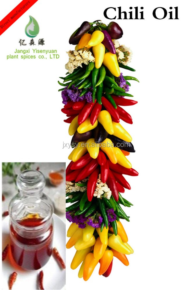 Tasty Organic Chili Oil Extracted From Pepper Seed With Best Price