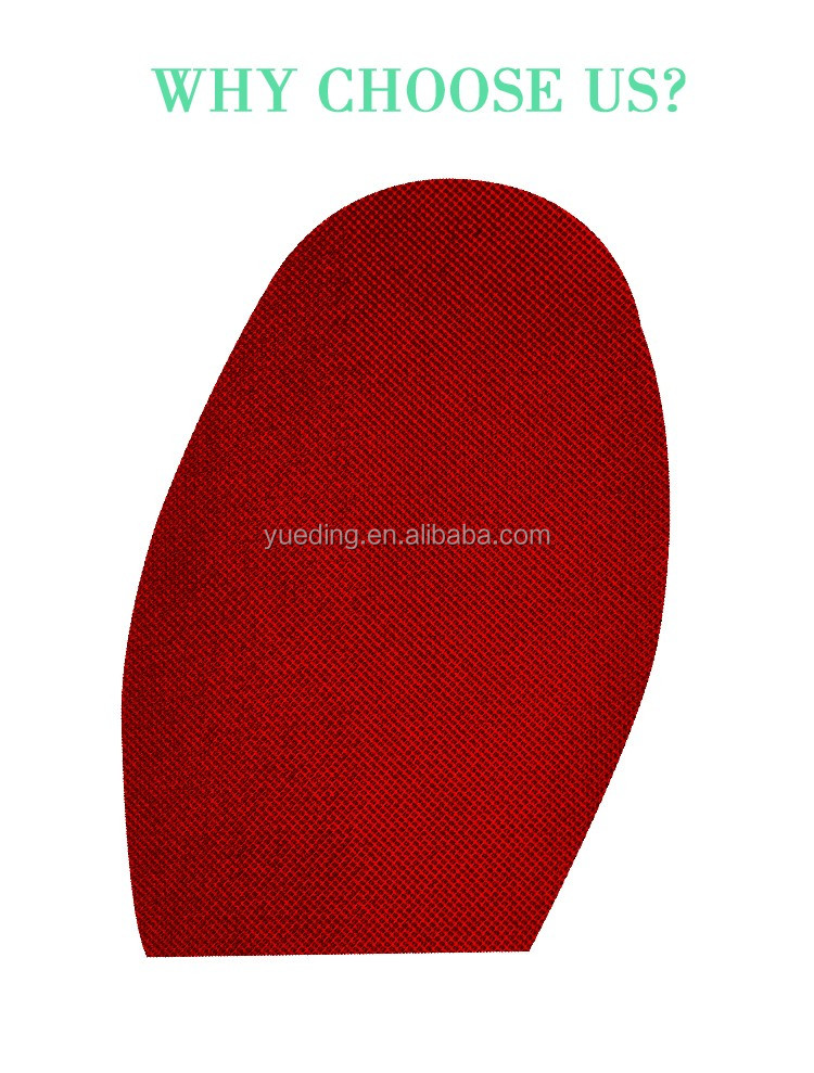 Special Rubber Formula Shoe Repair Making Material Customizable Design Out Shoe Half Sole