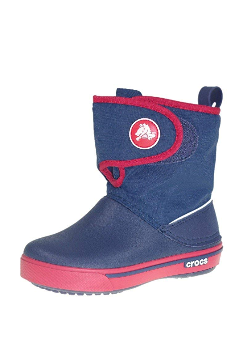 Kids Crocband 2.5 Gust Boots - C7 - NAVY / RED