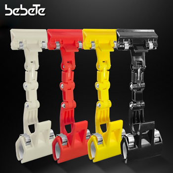 Plastic Double Head Rotatable Price Tag Clips Large POP Adjustable Clip-on Style Merchandise Shelf Sign Display Clip Holder