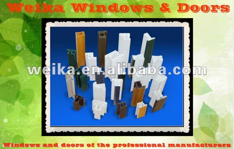 PVC Sliding Windows Europe style windows pvc windows prices
