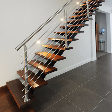 Stainless Steel Removable Stair Railing