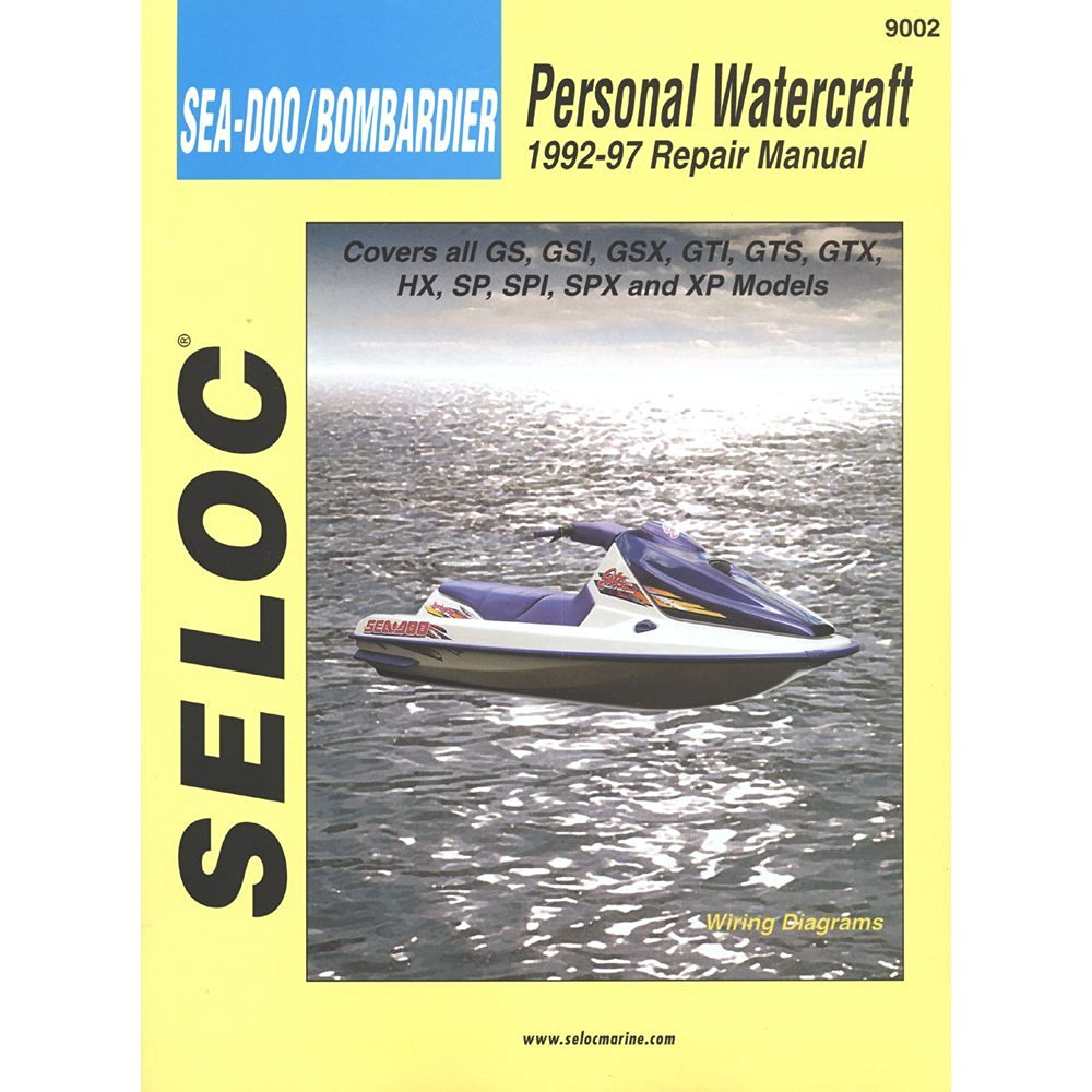 Get Quotations · MAN SEADOO PWC BOMBARDIER92-97