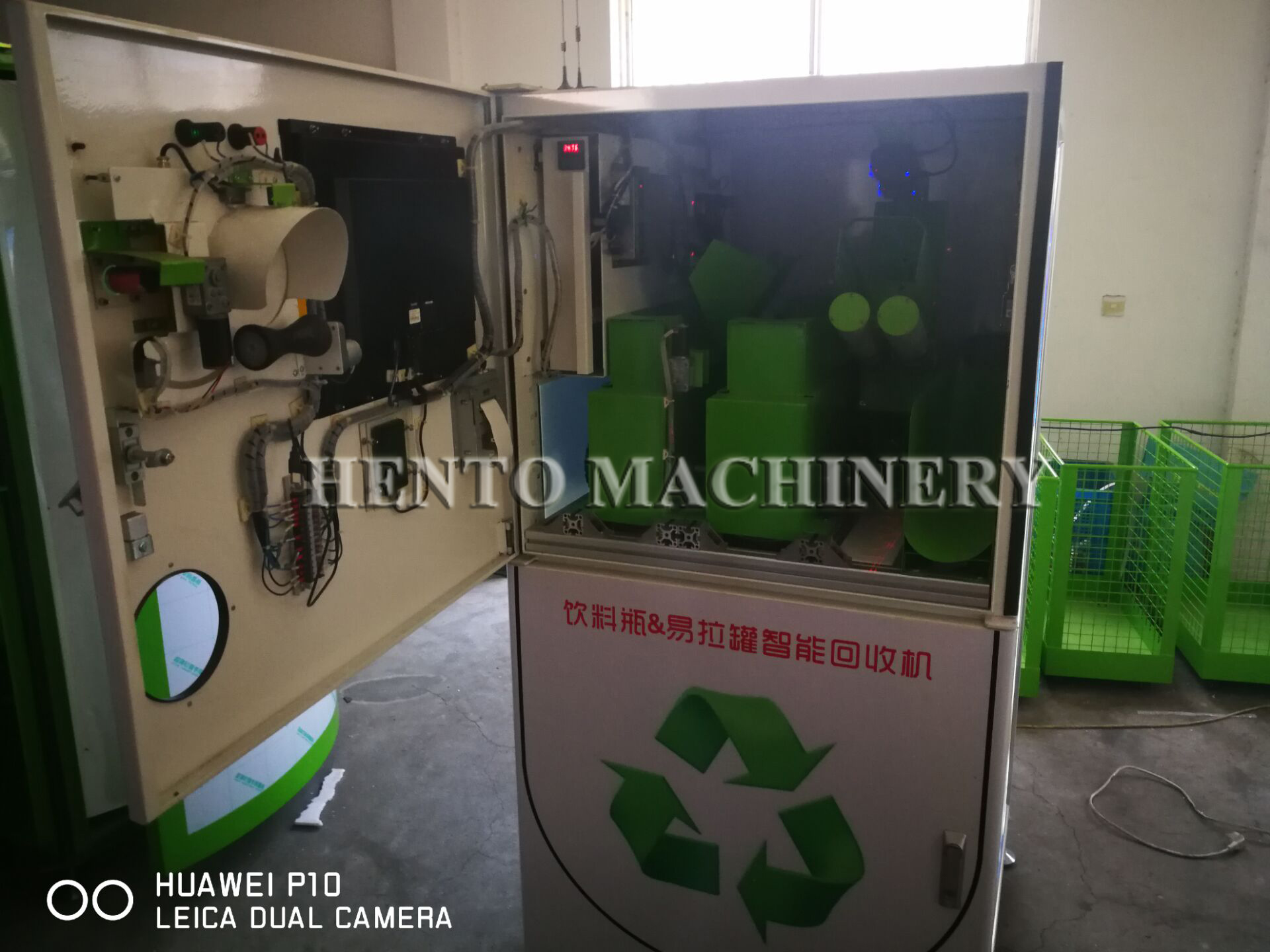 Goede Kwaliteit Pet & Plastic Fles Recycling Machine Voor Verkoop/Plastic Fles Recycling Automaat