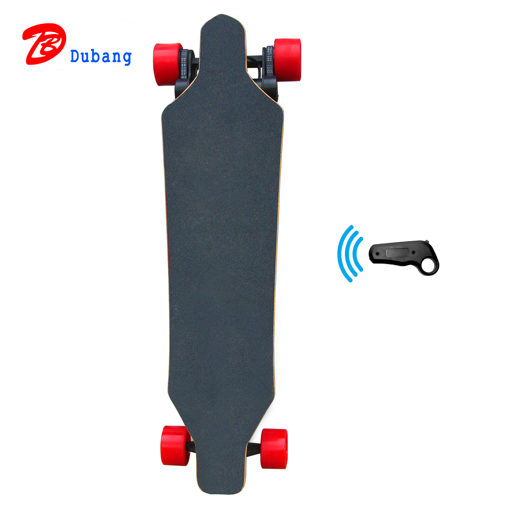 China supplier fast electric skateboard custom printed 4 wheels electronic longboard for sale